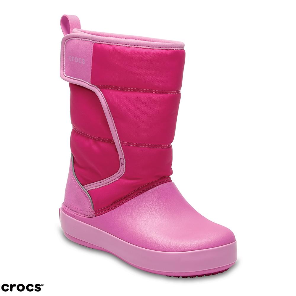 Crocs 卡駱馳 (童鞋) 兒童雪地洛基靴 204660-6LR