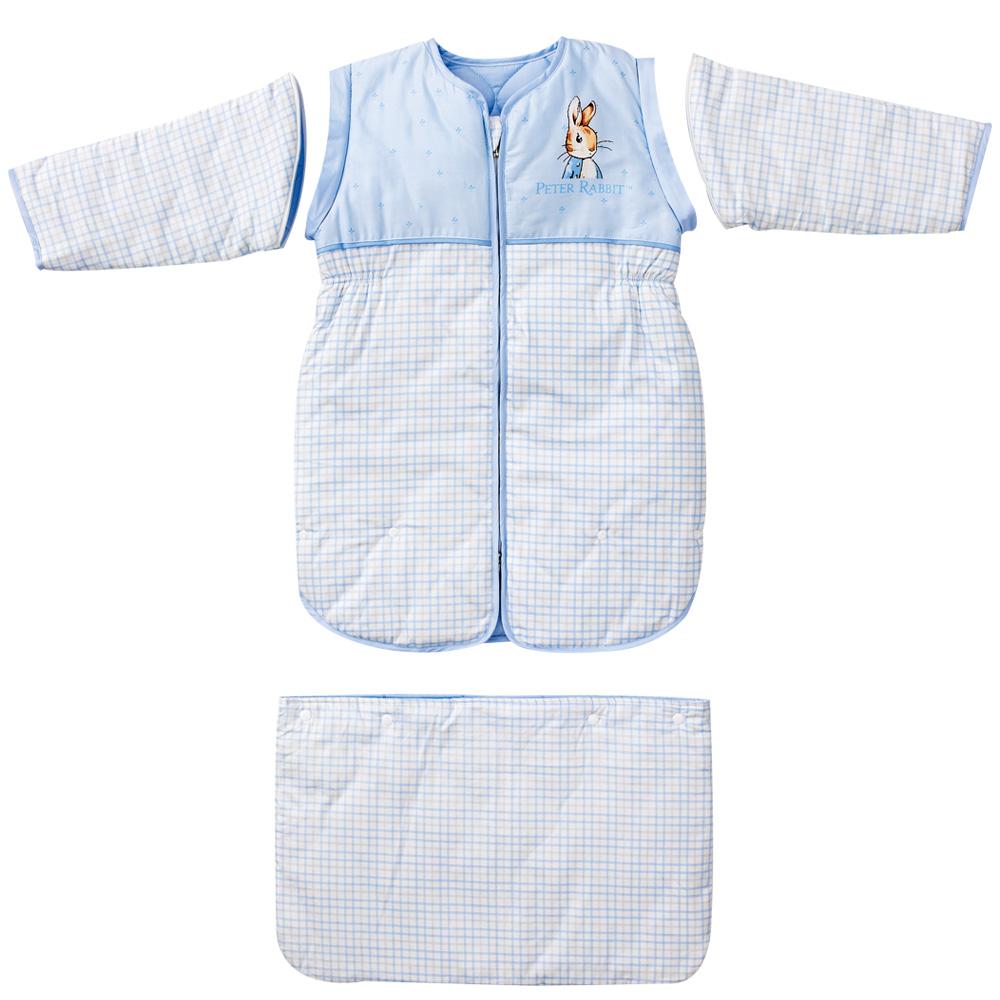 【奇哥】比得兔可拆式睡袋衣(藍色)