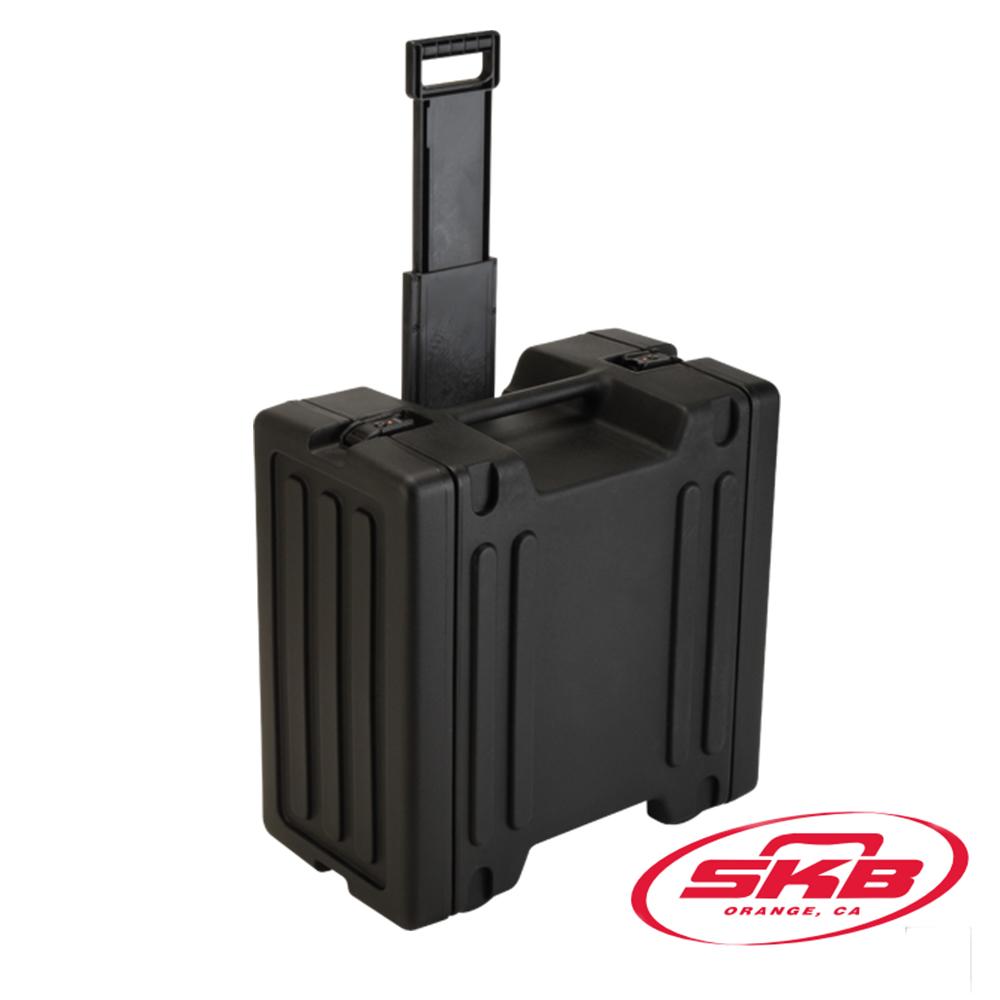 SKB Cases-6U Roto機架滾輪拉柄機箱1SKB-R6W