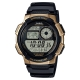 CASIO 世界之城電子數位膠帶錶(AE-1000W-1A3)-金框X黑面/43.7mm product thumbnail 1