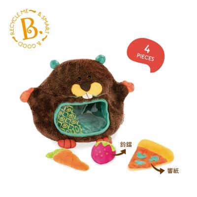 美國【B.Toys】貪吃河狸