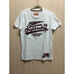 SUPERDRY 極度乾燥 短袖TEE 白色