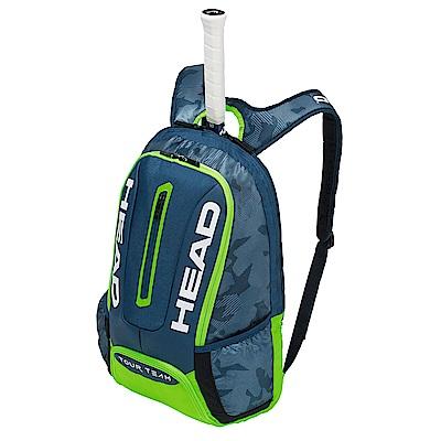 HEAD Tour Team系列 球具球拍專用後背包-青綠 283148