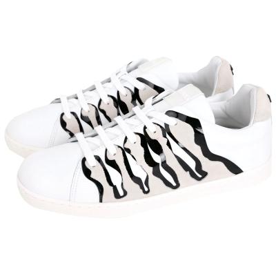 KENZO Tiger Stripes 虎紋設計運動鞋(卡其色/女鞋)