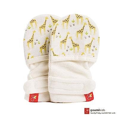 美國 GOUMIKIDS 有機棉嬰兒手套 (長頸鹿)