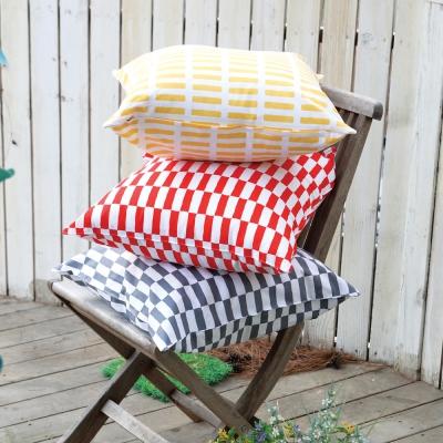 IN HOUSE-純棉抱枕-經典系列-條紋