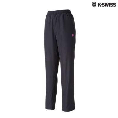 K-Swiss Track Pants 1運動長褲-女-黑