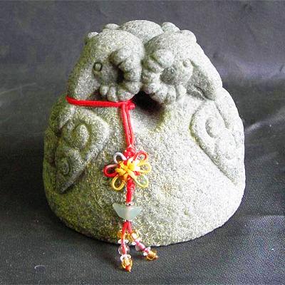 開運陶源  石塑造十二生肖【羊】青斗石*限量888