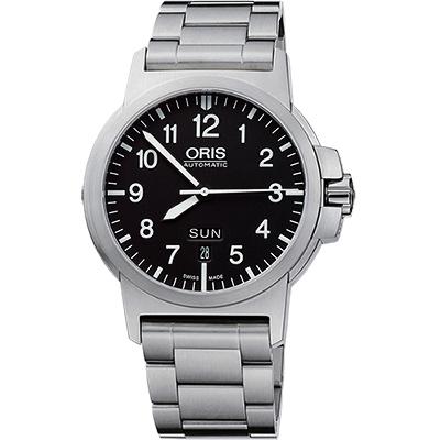 Oris BC3 Advanced 日曆星期飛行錶-黑/42mm
