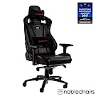 noblechairs 皇家 EPIC 系列電競賽車椅 (PU經典款) - 黑紅