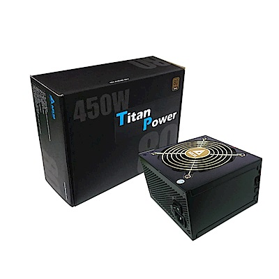 台達450瓦80plus銅牌電源供應器
