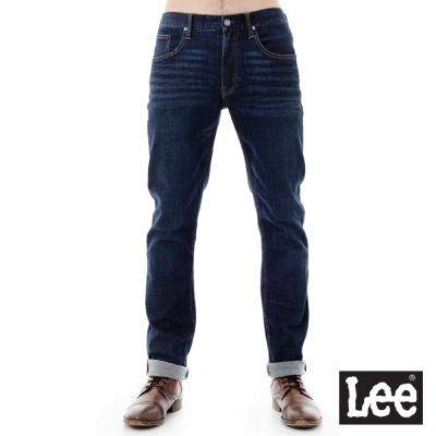 Lee 牛仔褲 726中腰標準小直筒牛仔褲/RG-男款-藍