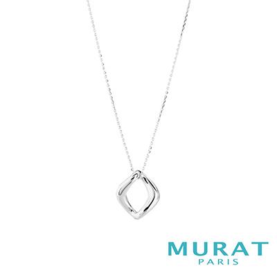 MURAT Paris米哈巴黎 經典立體方環項鍊