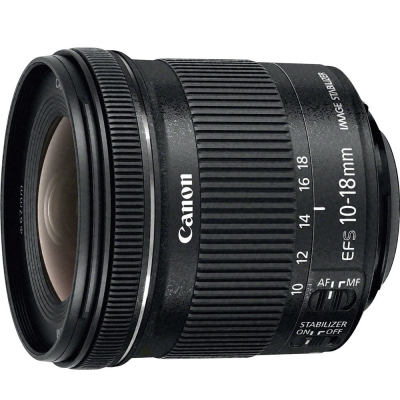 Canon EF-S 10-18mm f/4.5-5.6 IS STM 超廣角變焦鏡(公司貨)