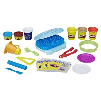 培樂多Play-Doh 創意DIY黏土 廚房系列 鬆餅早餐組 B9739(3Y+)