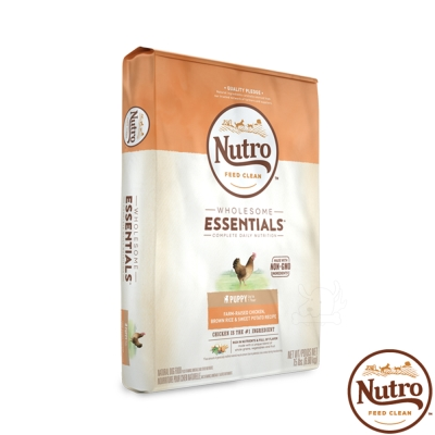Nutro 美士 全護營養 幼犬(農場鮮雞+糙米+地瓜)5磅 X1包