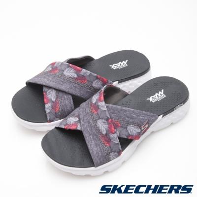 SKECHERS (女) 時尚休閒系列OnTHEGO 400拖鞋-14667GRY
