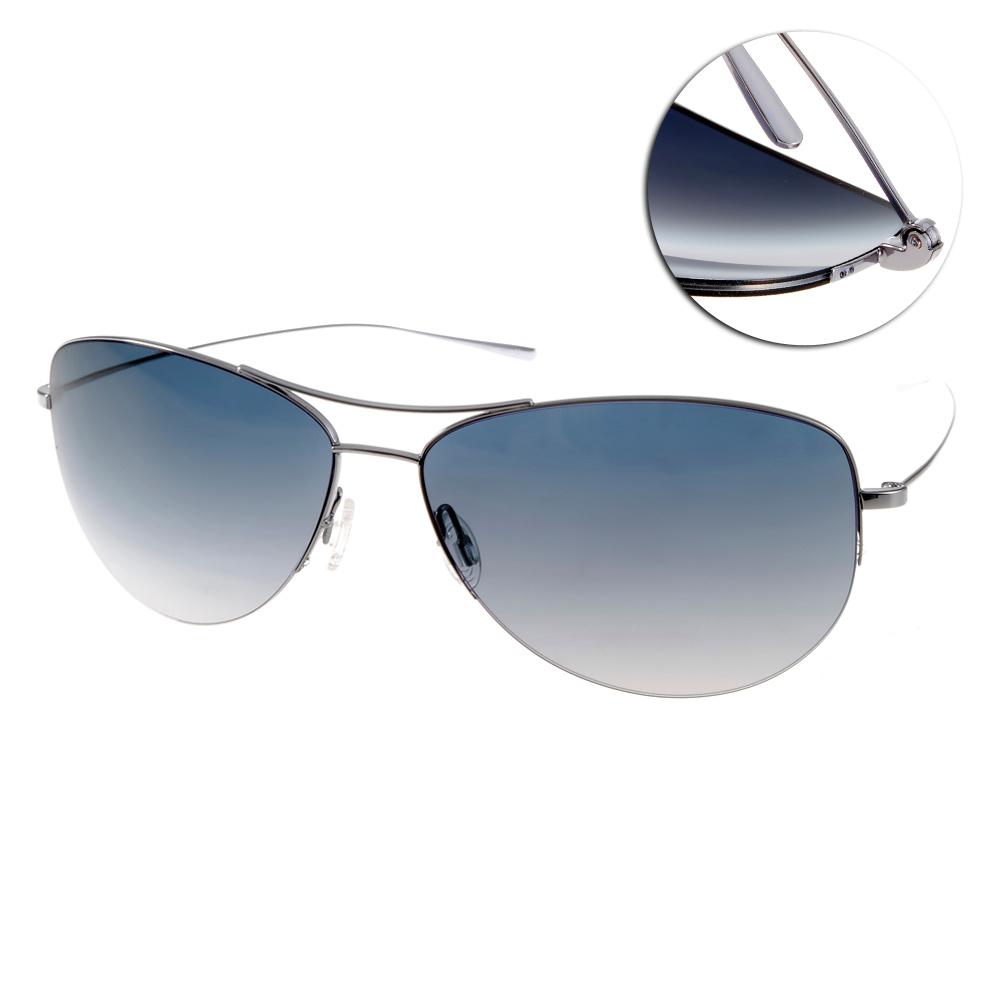 OLIVER PEOPLES太陽眼鏡 好萊塢星鏡/銀-藍#STRUMMER-T 5031