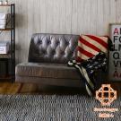 Sato-ASHBY時光倒帶復古和風雙人皮質沙發(無扶手)-W100*D70*H72cm