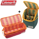 Coleman CM-26809+26810 戶外露營料理工具盒II+調味盒II /外出炊