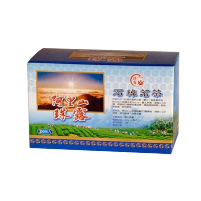 【幸福流域-富春齋】阿里山珠露烏龍茶包(20包入)