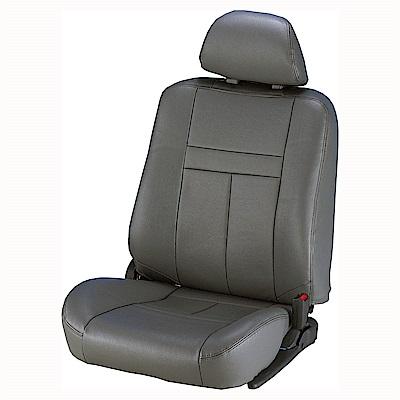 【葵花】量身訂做-汽車椅套-合成皮-尊貴型-單色-休旅車-6-8人座款第1+2+3排