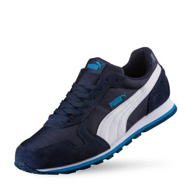 PUMA ST Runner NL男女復古慢跑運動鞋-重深藍