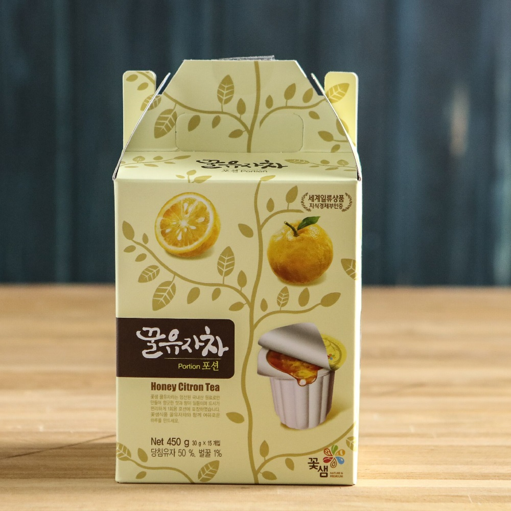 Honey Citron Tea 蜂蜜柚子隨身茶球(30gx15顆)