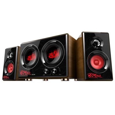 【福利品】TCSTAR 三件式超重低音多媒體喇叭-紅 TCS3429RD
