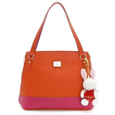 PLAYBOY-H-Hot-Bunny-系列購物袋-紅色