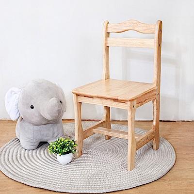 Boden-泰迪全實木兒童遊戲椅/椅凳/矮凳(四入組合)-免組裝-30x32x60cm