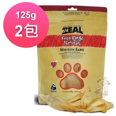 岦歐ZEAL紐西蘭天然寵物食品 鹿耳朵 125g (2包)
