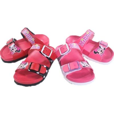 魔法Baby台灣製迪士尼米妮授權正版女童涼鞋sh7001