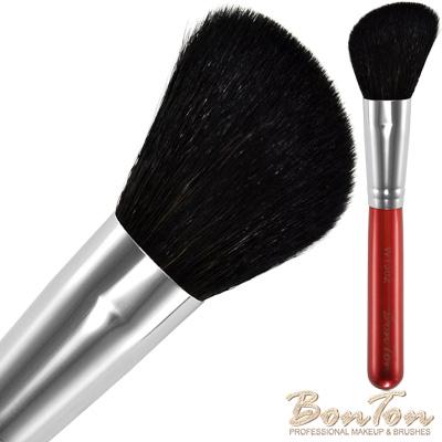 BonTon 湛紅短柄 斜腮紅/修容刷 WTJ02 特級尖峰黑羊毛