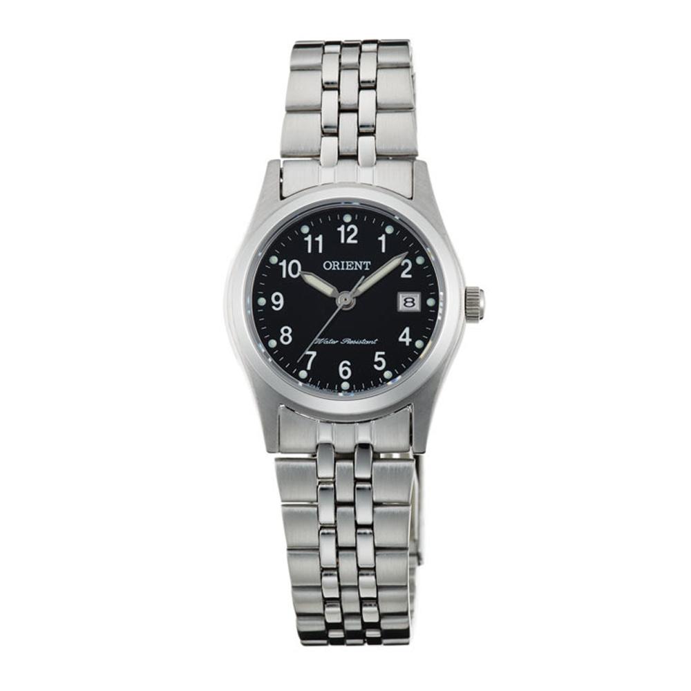 ORIENT 典雅簡約藍寶石石英女錶(FSZ46006B0)-黑/26mm