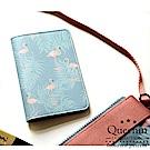 DF Queenin - 旅行的意義文青風護照夾-共4色