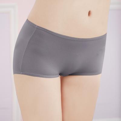 可蘭霓台灣製 舒適透氣Tactel M-XL平口褲 優雅灰