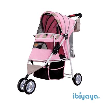 IBIYAYA依比呀呀-繽紛午茶寵物三輪車-蜜糖粉(FS1101S)