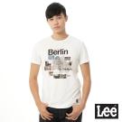 Lee 短袖T恤 Berlin城市彩色圖案印刷 -男款(白)
