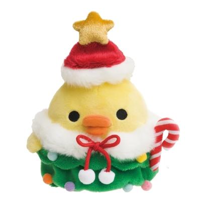 拉拉熊2017聖誕節店舖限定版毛絨公仔。小雞  San-X
