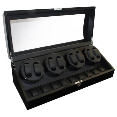 PARNIS BOX 自動機械錶收藏盒【自動上鍊盒8+9入】鋼琴烤漆手錶收藏盒 Q31BB