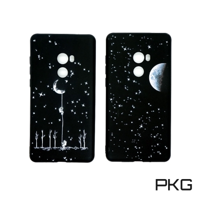 PKG For:小米MiX2軟性保護殼-彩繪流行款