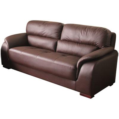 【TAISH】Boss經典三人座獨立筒皮沙發