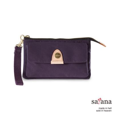 satana - 都會長夾/手拿包 - 紫色