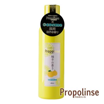 日本 Propolinse 柚子蜂膠漱口水(600ml/瓶)