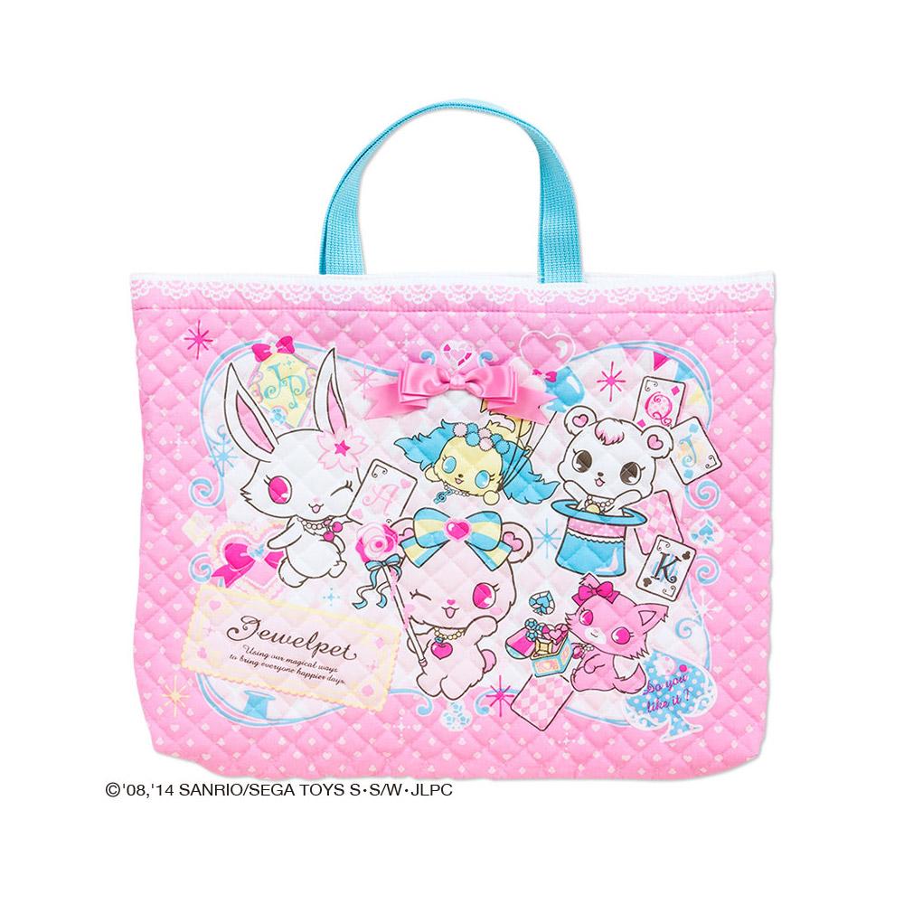 Sanrio 寶石寵物棉質布面提袋(撲克牌)