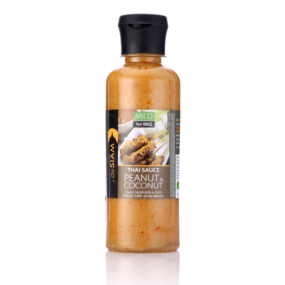 deSIAM暹羅 泰式花生椰奶沙爹醬(285g)