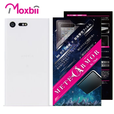 Moxbii-Sony-Xperia-X-Compact-抗衝擊-背面保護貼-非滿版