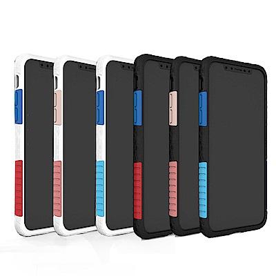 太樂芬iPhone 7/8 NMDER抗汙防摔邊框手機殼