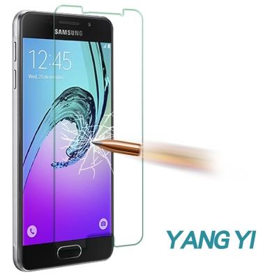 揚邑 Samsung Galaxy A3 2016 防爆防刮防眩9H鋼化玻璃保護...